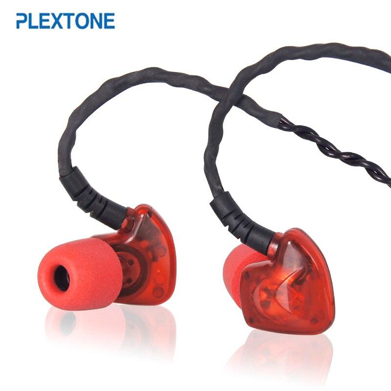 Brand Hot PLEXTONE S50 Deep Bass Ear Hook Earphone Noise Reduction Sport HiFi Headset Sweat-proof Memory Foam Headphone With MIC