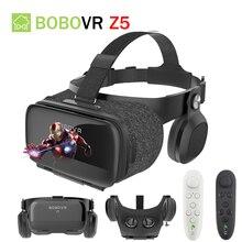 Original BOBOVR Z5 VR 3D Stereo Glasses Google Cardboard Virtual Reality VR Phone Headset Helmet for
