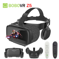 Original BOBOVR Z5 VR 3D Stereo Glasses Google Cardboard Virtual Reality VR Phone Headset Helmet Box for 4.7 6.2'in Mobile Phone