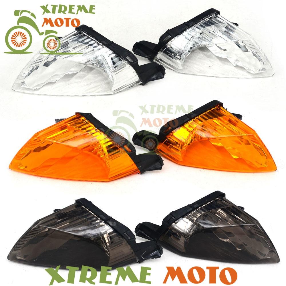 Motorcycle Turn Signal Bulb Indicator Light Case Cover For Honda VFR800 VFR 800 2002 2003 2004 2005 2006 2007 2008 2009 2010 for honda vfr 800 f 2002 2017 vfr800 f 2003 2004 2005 2006 motorbike adjustable folding extendable moto clutch brake levers