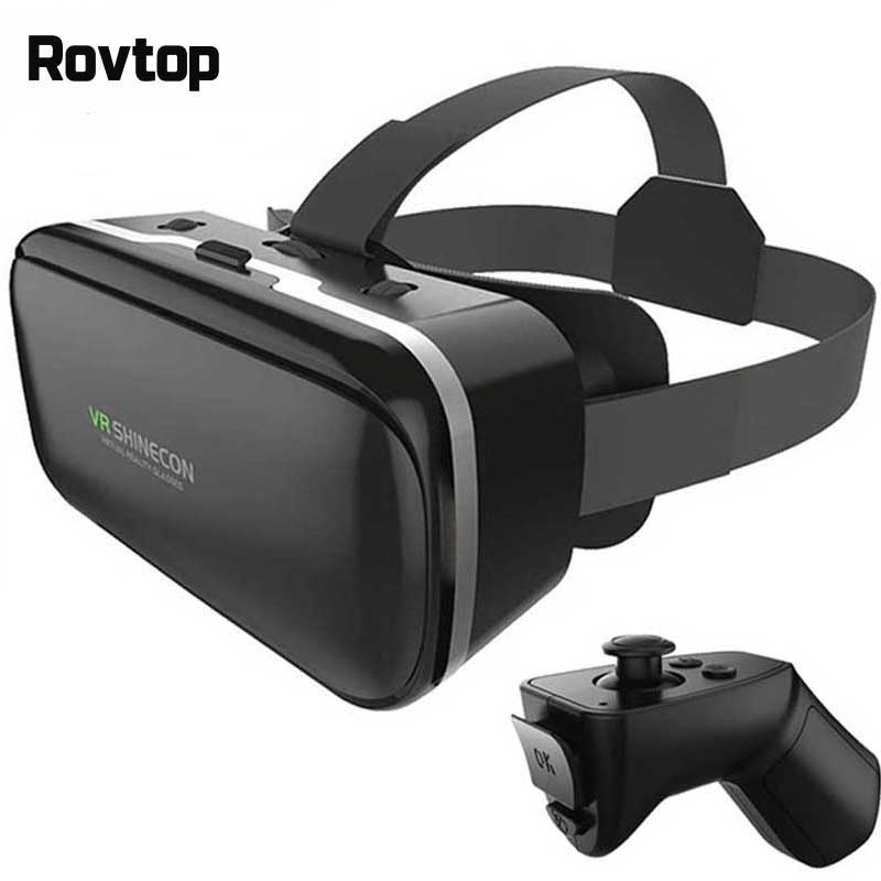 VR Box VR Virtual Reality 3D Glasses Cardboard Headset Helmet For Smartphone Smart Phone Eyeglasses VR Games Video Films