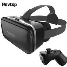VR kutusu VR Sanal Gerçeklik 3D Gözlük Karton Kulaklık Kask Için Smartphone Akıllı Telefon Gözlük VR Oyunları Video Filmleri