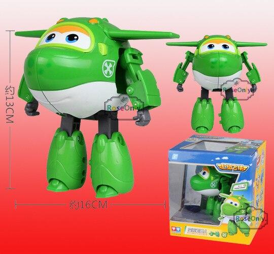 Big 15 cm Super Asas de Avião Brinquedos Robô Paul Jett Jerome Tonto Mira Avião Brinquedos Figuras de Ação Meninos Presente de Natal/50