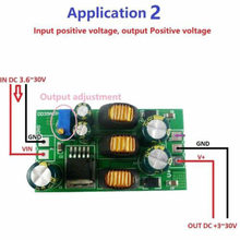 Convertisseur double régulation de tension Boost-Buck positif et négatif +-5 V 6 V 9 V 10 V 12 V 15 V 24 V DC avec/sans Module Terminal(China)
