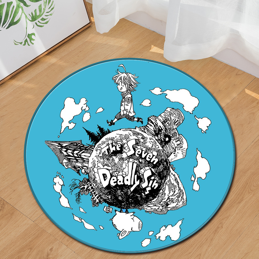 Earth Planet Round Carpet for Livingroom Bedroom Kids Room Playmat Computer Chair Cushion Soft Sofa Rug Door Tapetes Floor MATS
