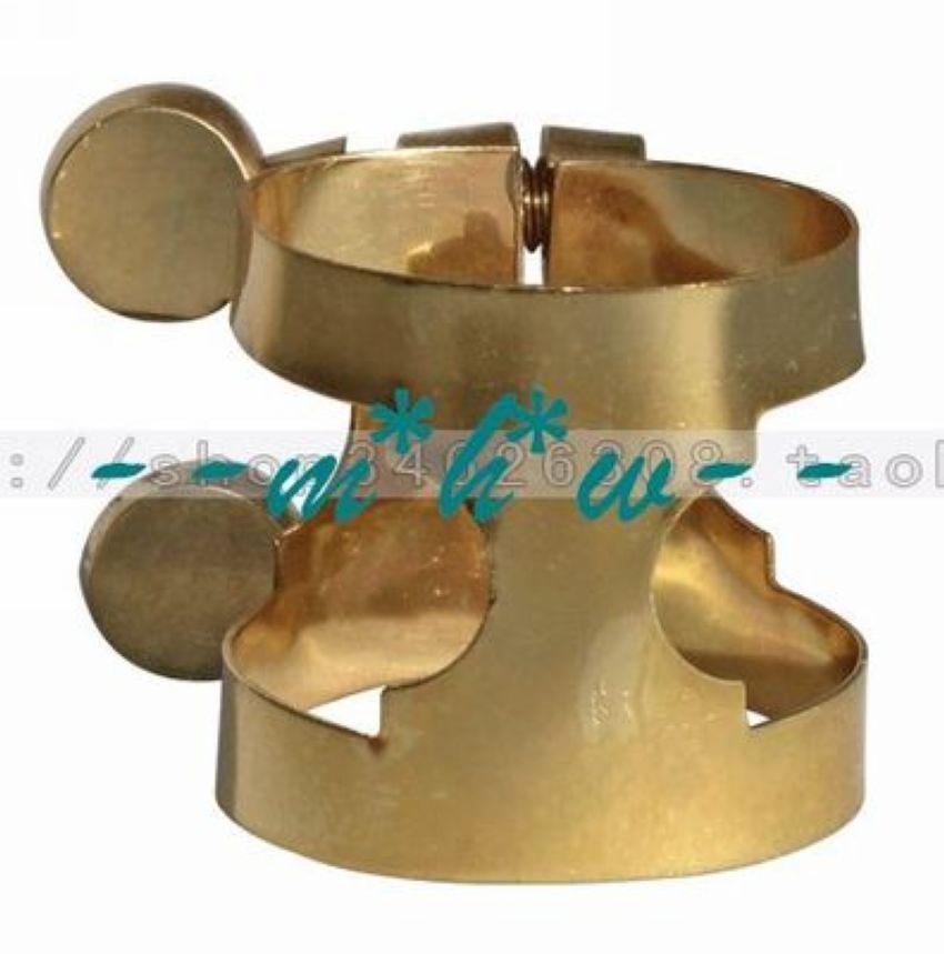 6 pieces Metal ligature for soprano mouthpiece