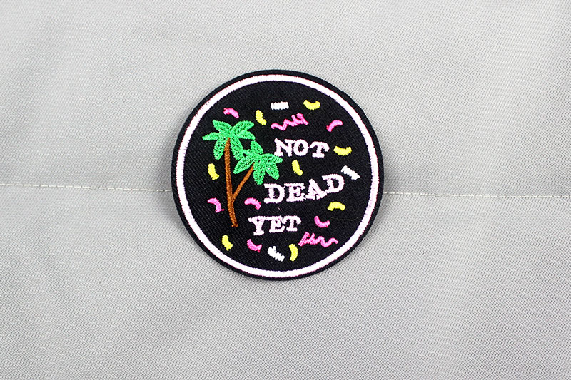 2019 new Rock Music Fashion Clothes Patches Hot Iron on Embroidered Badges  Stickers Applique for Jacket Jeans Decoration