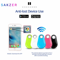 Anti Verloren Alarm Smart Tag Draadloze Bluetooth Tracker Kind Tas Portemonnee Key Finder Blt Locator Anti Verloren Alarm Itag-in Smart activiteit Trackers van Consumentenelektronica op
