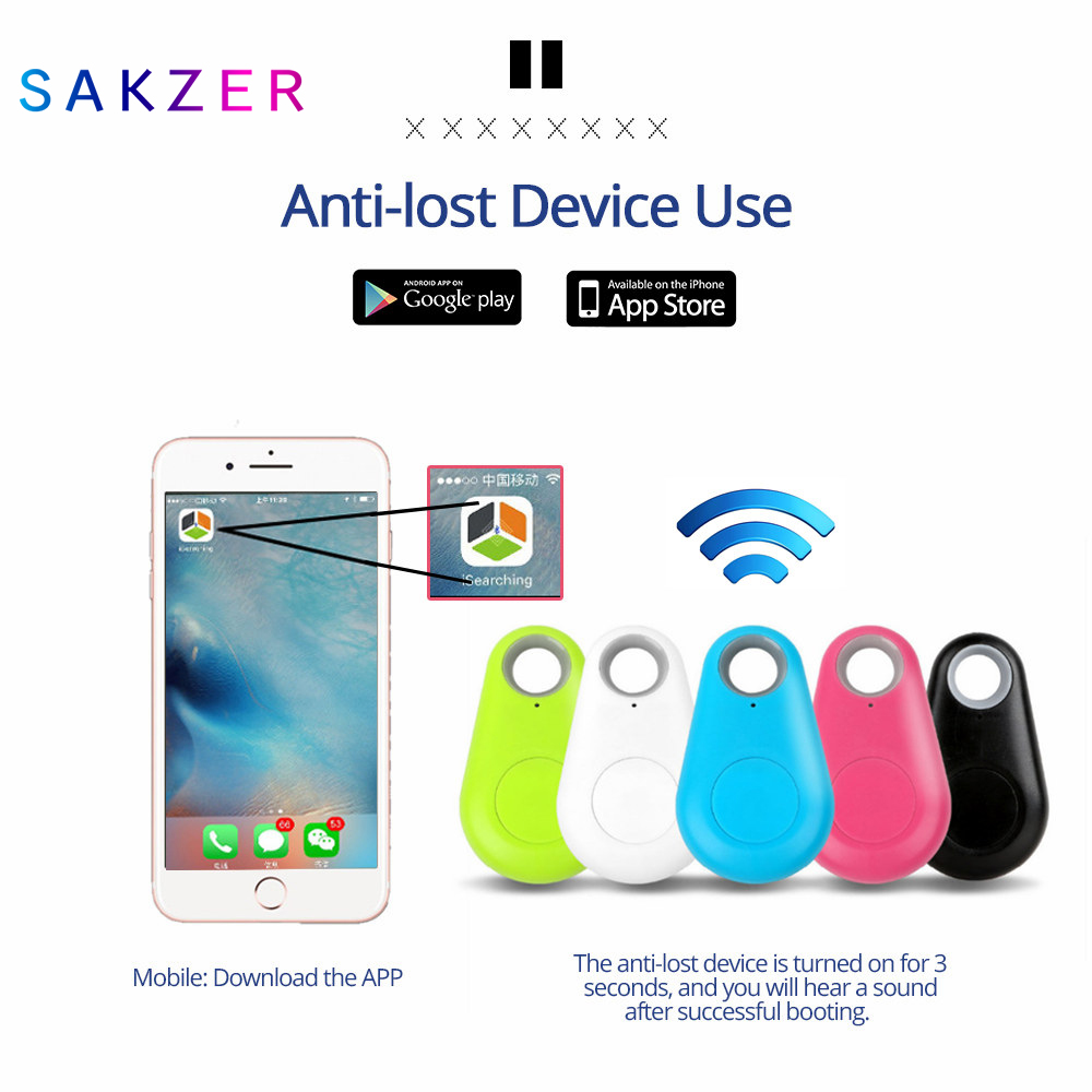 Anti-lost Alarm Smart Tag Wireless Bluetooth Tracker Child Bag Wallet Key Finder BLT Locator Anti Lost Alarm Itag