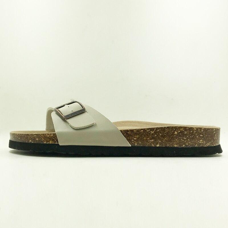 Новый 2018 Направляющие Летняя стильная обувь Ортопедические женские сандалии Тапочки на корковой подошве Slip-On Повседневное классические шл...