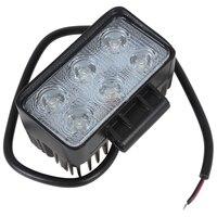 Hot Sale 1320LM 6 X 3W High Power LED Work Light Flood Beam Spot Beam Offroad