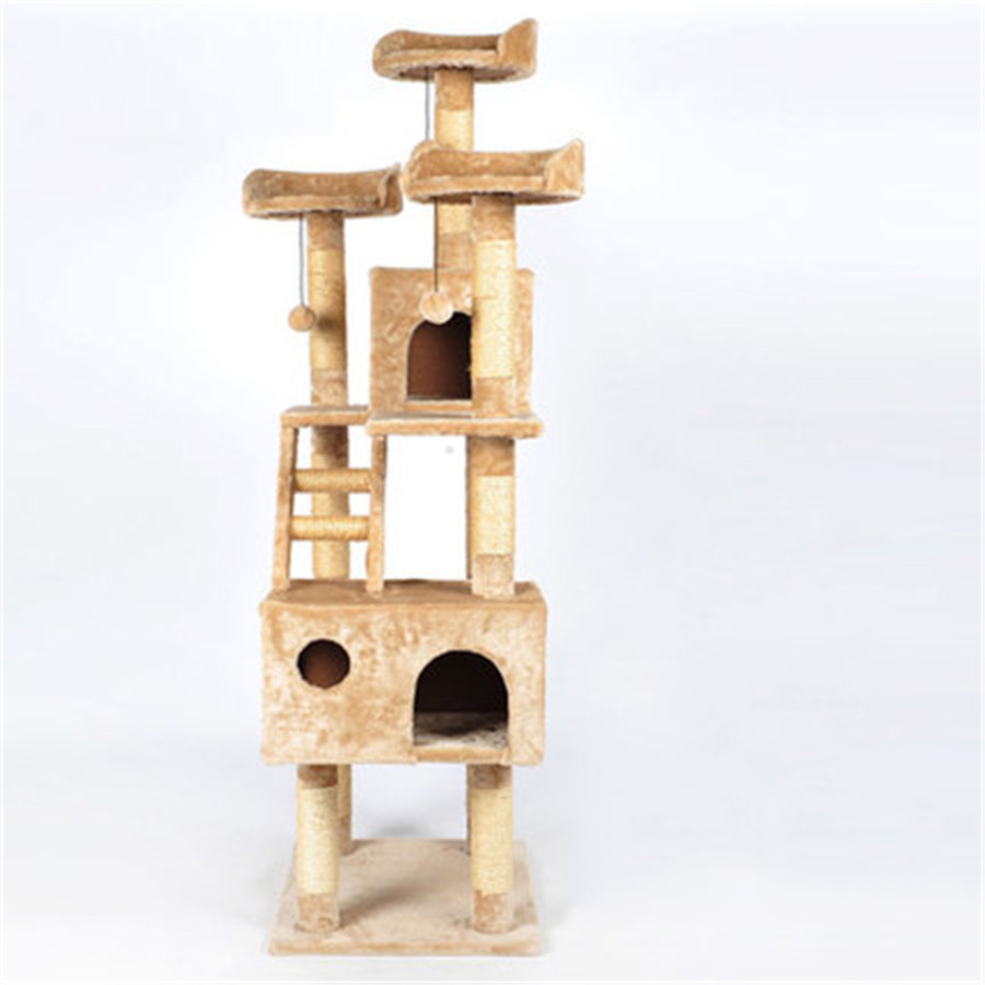 Sisal Pets Cat Climbing Frames Toys Interactive Gatos Shelves Funny Pet Soft Supplies Cute Products For Kittens QQM2188