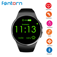 Fentorn KW18 Smart Watch phone support TF SIM card Heart Rate IPS Screen bluetooth smartwatch For Apple IOS gear s2 Android OS