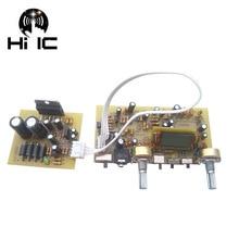 Stereo FM Radio Board Digital Frequency Modulation Radio Board Serial Port DIY FM Radio TEA5711