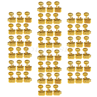 10set Gold 6R Inline Vintage Tuning Peg Head Machine For Fender ST Guitar Replacement