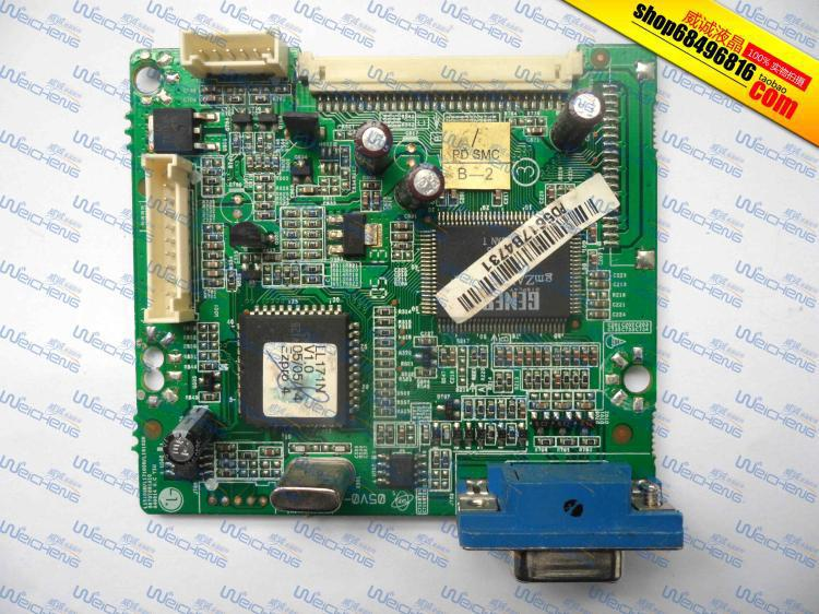 Free Shipping> L171 logic board 6870T991A10 driver board / motherboard / signal board-Original 100% Tested Working free shipping x203h logic board ptb 2103 6832210300p01 driver board motherboard original 100% tested working
