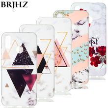 Nova 3i Case on For Coque Huawei P Smart Plus Case Marble Soft Phone Case For Huawei Honor 8X 8C Y9 2018 Cover Tempered glass