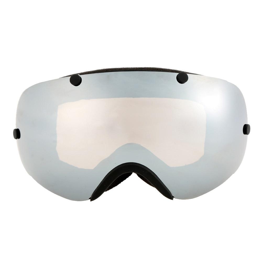Prix pour Protection UV Unisexe Hiver Sport Coupe-Vent Lunettes Anti-brouillard Professionnel Ski Snowboard Lunettes Lunettes TPU Cadre