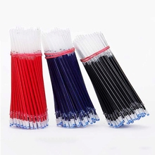 20pcs/lot Gel Pen Refills Set Stationery School Office Supplies Tool Black Blue Red Ink Rods for Neutral Gel Pen Refill 0.5mm 0 5mm 10pcs set gel pen refills and 2 pcs gel pen for handless red blue black gel ink refill office school supplies 1 order