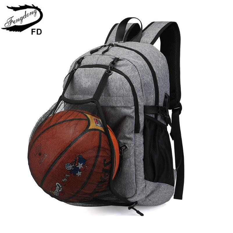 FengDong school bags for boys student school backpack men travel bags rucksack male waterproof laptop backpack usb bag boy gift цены