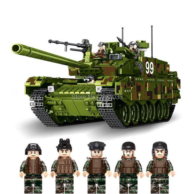 Compatible legoinglys Military WW2 Tank series type 99 main battle Jungle Tank model Building Blocks Bricks Toy For Children GifCompatible legoinglys Military WW2 Tank series type 99 main battle Jungle Tank model Building Blocks Bricks Toy For Children Gif