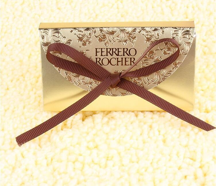 Wedding Favors Supplies Candy Boxes Party Baby Shower Gift Ferrero Rocher Chocolates Box Sweet Gifts Bags Supplies