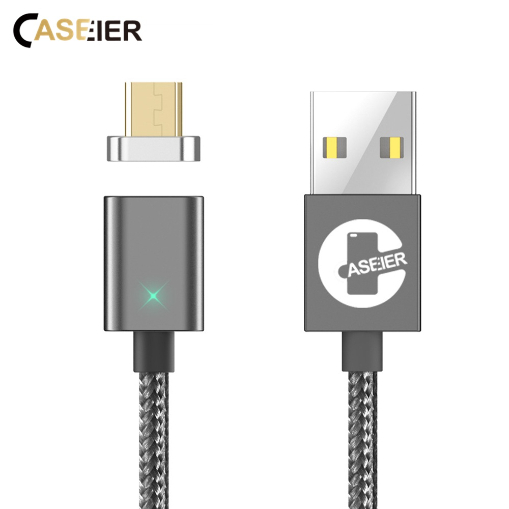 CASEIER Micro USB Cable Magnetic Charger For Samsung Xiaomi Tablet Mobile Phone Fast Charge Magnet Micro USB Data Cable Kabel