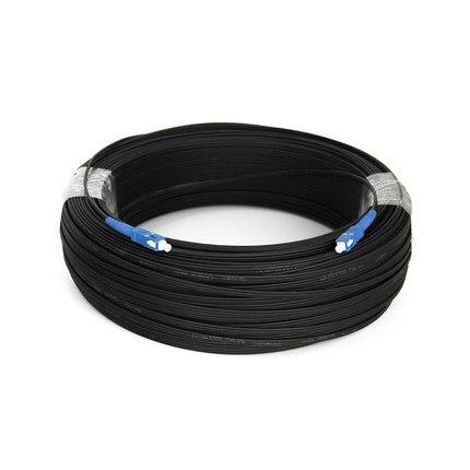 1000 м Открытый FTTH волоконно оптический кабель падения патч корд SC в SC симплекс SM SC SC 1000 м кабель падения патч корд