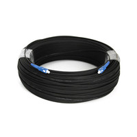 1000M Outdoor FTTH Fiber Optic Drop Cable Patch Cord SC to SC Simplex SM SC SC 1000 Meters Drop Cable Patch Cord