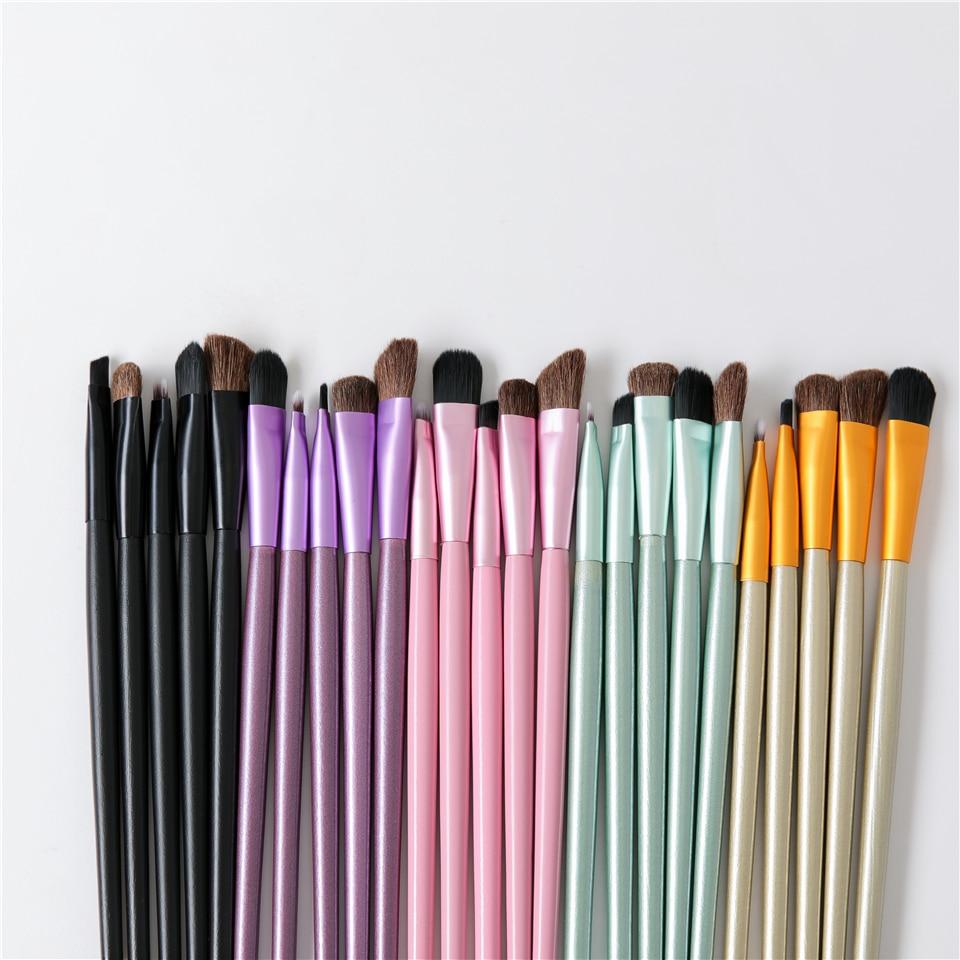 5pcs Portable Mini Eye Makeup Brushes Set 5