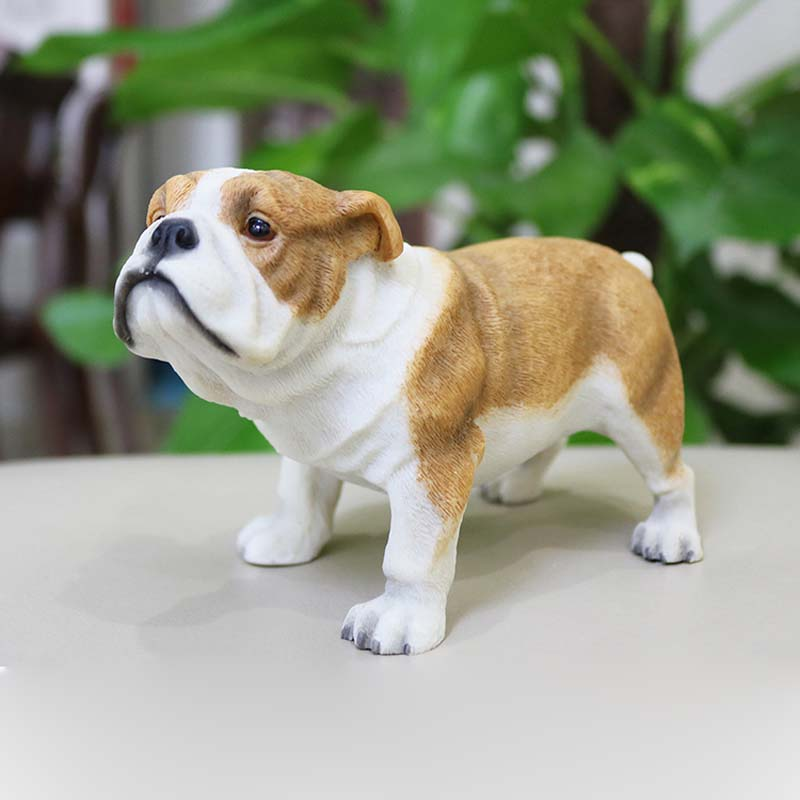 US $45 99 |Mnotht 1/6 British Bulldog Model Cattle Dog Mini Toy Resin Scene  Accessory for Action Figure Collection Decoration Gift-in Action & Toy