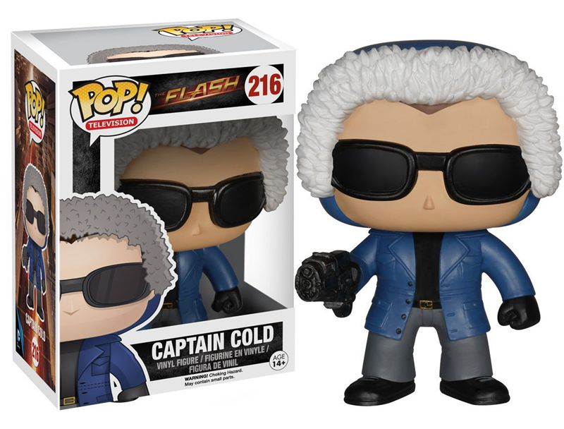 New Funko pop Official TV The <font><b>Flash</b></font> <font><b>Captain</b></font> <font><b>Cold</b></font> Super Hero <font><b>Action</b></font> <font><b>Figure</b></font> Doll Collectible Kids Model Toy with Original box