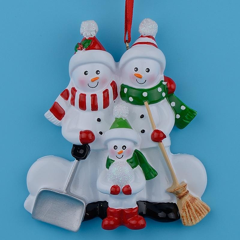 Aliexpress.com : Buy Resin Snowman Family Shovel of 3 ...