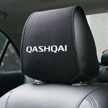 Чехол на подголовник автомобиля, 1 шт., подходит для NISSAN QASHQAI J10 J11 2011 2008 2018 2019, аксессуары для стайлинга автомобиля