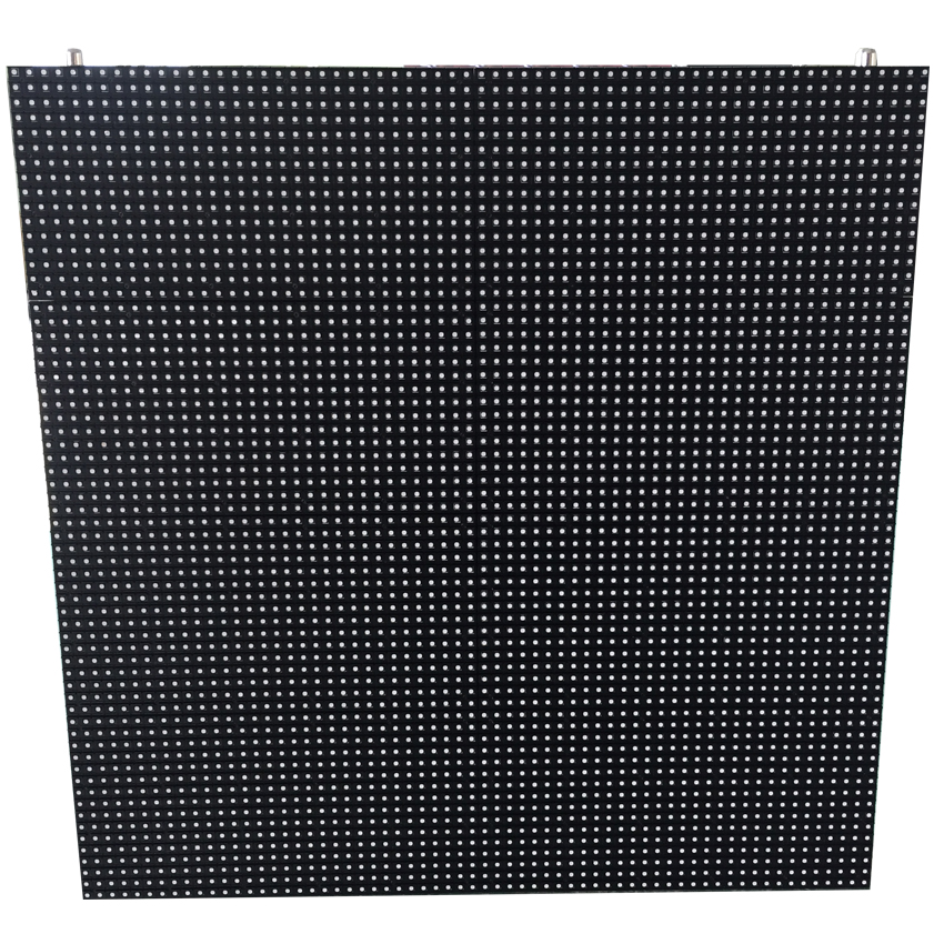 Outdoor Advertising Led Display Screen P8 SMD3535 Die Casting Aluminum Cabinet 512×512mm Full Color For Video Wall Taxi Stage