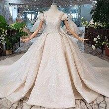 464d6356ca0b3 Robes de mariée spéciales à épaules dénudées avec voile de mariage à lacets  dos robe de mariée perlée à la main pour fille robe .