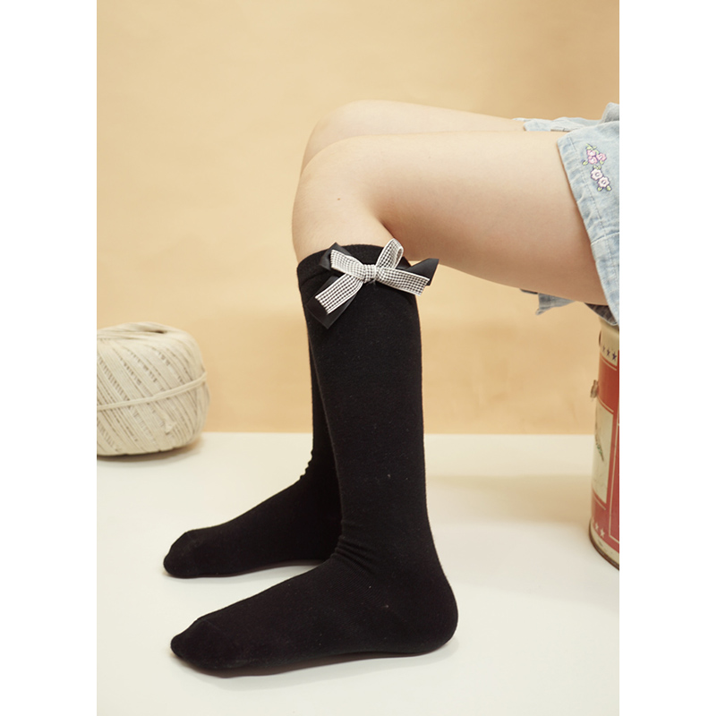 Girl Socks 3-10 Years Old Cotton New Summer Korean Version knee high Long Tube Princess Children's Knee Socks Kids Dance Socks