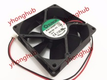 Frss shipping for SUNON KD1208PTS1, 13.GN DC 12V 1.8W 2-wire 2-pin 80x80x25mm Server Square fan
