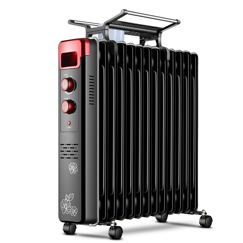 Oil Heater Household Electric Heating Energy Saving Electric Heater Fast Heating Fan Desktop Oven D252