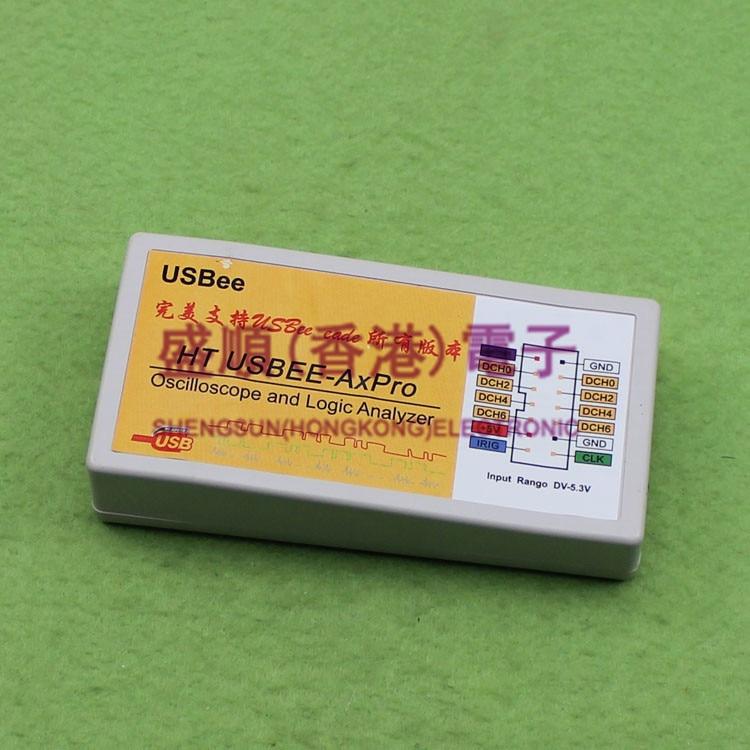 USBee AX Pro Full Featured Full Version USB Virtual Oscilloscope Logic Analyzer (D2B5)