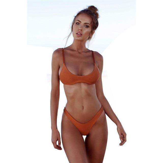 c428e6a2972a8 NIDALEE 2018 Sexy Bikini Plus Size Swimwear Women Swimsuit Female Beach  Wear Push up Thong Brazilian