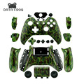 New Arrival Custom Hydro dipped army camo Controller Shell Mod Kit  for Microsoft Xbox one 1 controller case With Screw and Tool