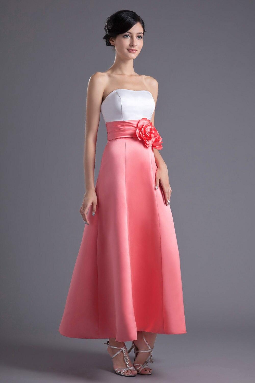 Hermosa Prom Vestido Sin Tirantes Ideas - Colección de Vestidos de ...