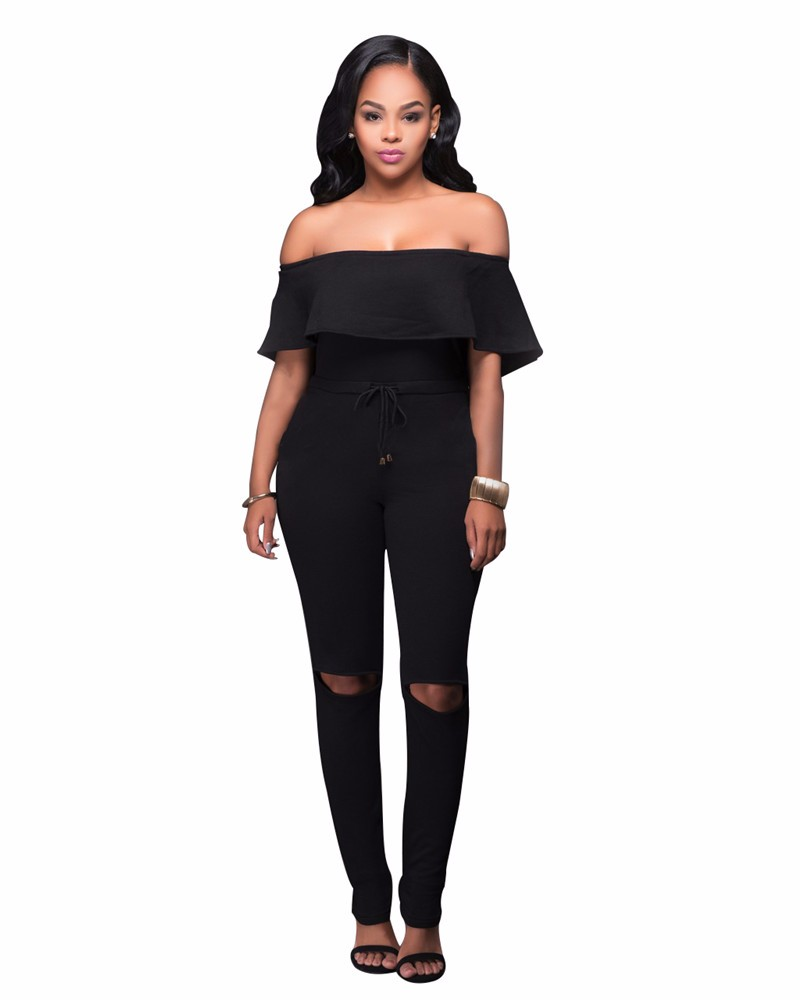 women strapless jumpsuit overall -14