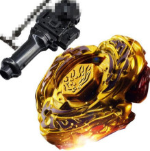 4D hot sale beyblade Hot Sale New L-DRAGO GOLD TOP METAL FUSION FIGHT MASTER BEYBLADE lighted musical Toys Beyblade-Launchers