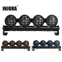INJUltra lumière LED lumineuse pour 1:10 1: 8 Traxxas Tamiya HSP HPI monstre camion Course courte voiture RC chenille SCX10 D90 CC01