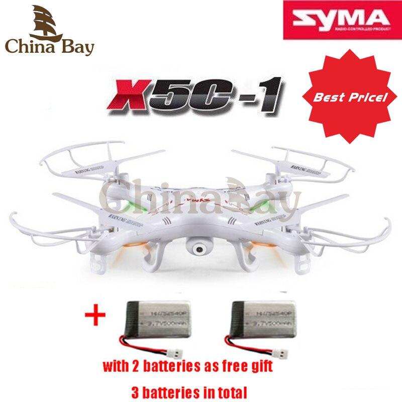 Syma X5C X5C 1 Quadcopter 200w Camera Drones 2 4G 6 Axis GYRO HD Camera RTF