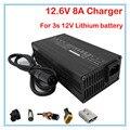 180 W 12.6 V 8A carregador De bateria de Lítio 12 V 8A Power adapter para 3 S li-ion bateria 10.8 V 11.1 V 12 V bateria De Lítio carregador