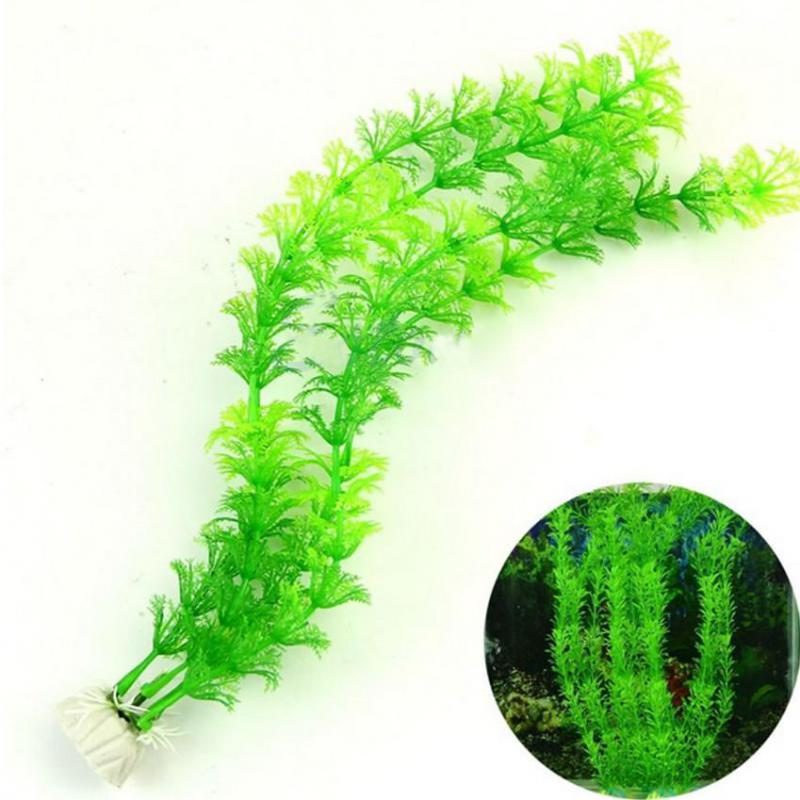 Artificial Aquarium Plant Decoration Fish Tank Submersible Flower Grass Ornament Decor For Aquarium Underwater Plant 10-30cm 3