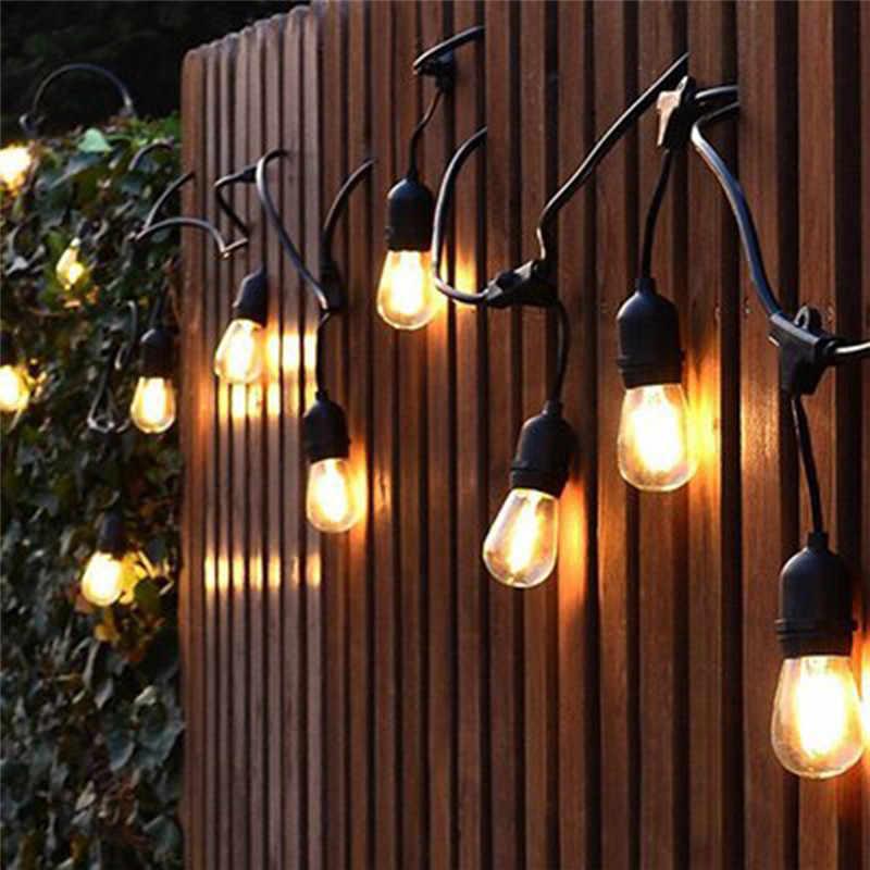 String Lights Hanging 2w Vintage Edison